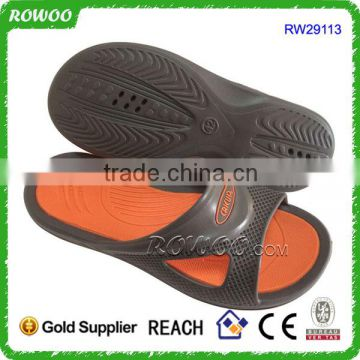 Black Comfort Anti-Slip Home Shoes Bath Slipper Indoor Floor Slipper