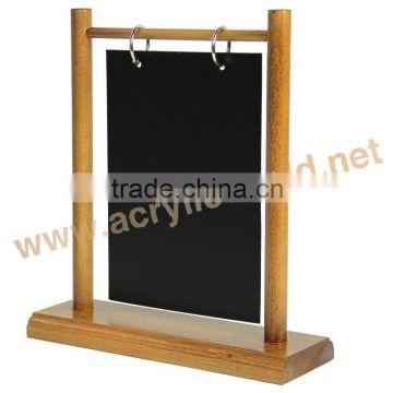 New Style Wooden Clipboard Menu Holdersmenu Chalkboards For - Table menu holders for restaurants