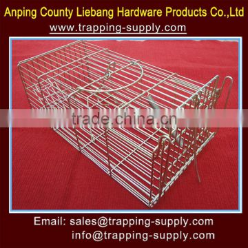 14*7*6Inch Bait Rat Trap Cage Family Humane Mouse Trap Cages With Two Entry Pest Control China Supplier