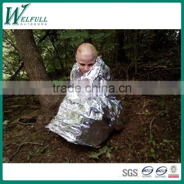 Emergency survival first aid rescue aluminum foil blanket