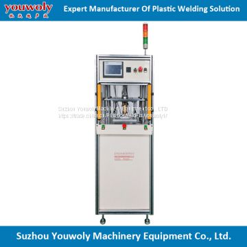 High Performance Dual Station Hot Melting Plastic Machine