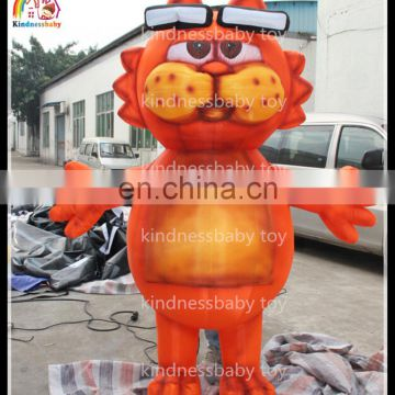 Wholesale Inflatable Advertising Customized Mascot Costumes Moving Cartoon
