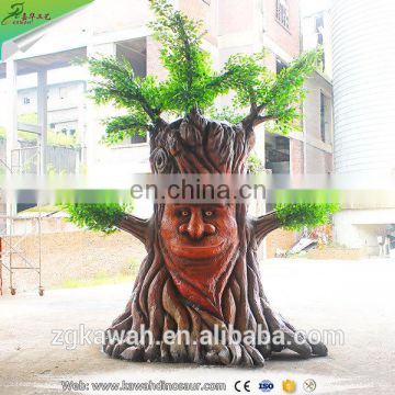 KAWAH 2016 Hot Sale Animatronic Artificial Talking Tree For Theme Park