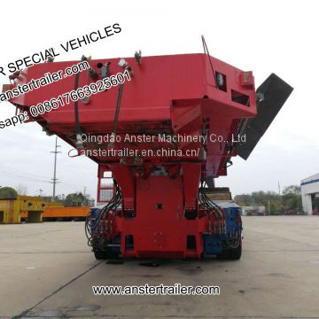4/6/8 Axles 40/45 T/Tons Payload Goldhofer Hydraulic Axles Module/Modular Trailers with Q690 material