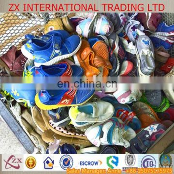 second hand shose sorted/mixed summer children used shoes