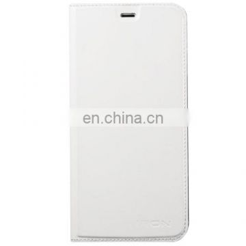Horizontal Flip Smart Leather Case with Wake-up / Sleep Function for UMI IRON(White)