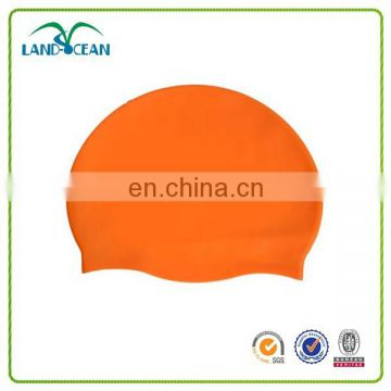 Factory direct sale custom logo silicone swim cap