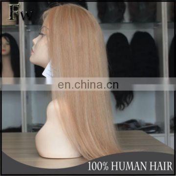 Aliexpress remy human wigs peruvian raw hair 100% human virgin full lace wig with baby hair for black women