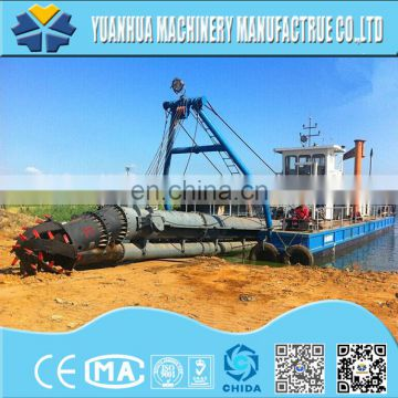 Coastal dredging equipment hydraulic operation cutter suction dredger