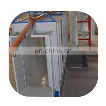 Excellent powder coating production line for aluminum doors and windows