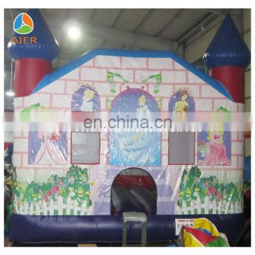 2016 with slide inflatable castle park/inflatable bouncer for sale