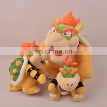 classic game character dinosaur super mario plush toy