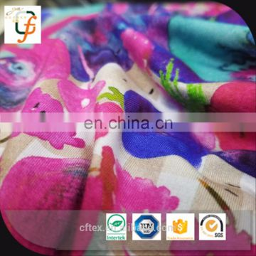chinese suppliers 2017 new knitting bamboo fabric for kids