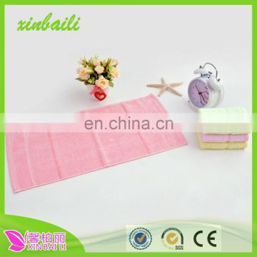 Hot China Supplier professional comfortable antibacterial fiber bamboo towel