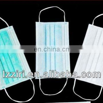 colored disposable nonwoven mask