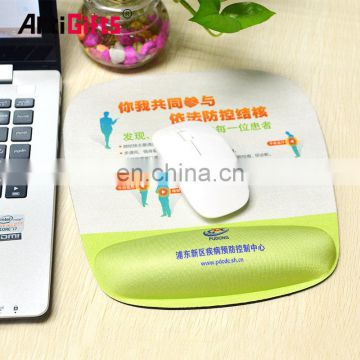 Advertising mouse pads wrist rest promotional printed