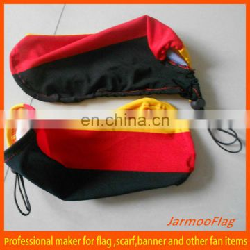 Rearview mirror cover sideview mirror flag
