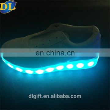 Australia sport adults rechargeable led flashing lights shoes