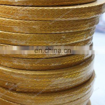 Gold Metallic Thread/Mylar Braid/Lace/gold braids bullion wire braid