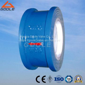 Ceramic Lined Disc Type Wafer Check Valve (GH72TC)