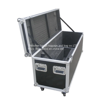 Led Plasma Tv Custom Road Case Wheels Tourgo 26
