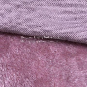 100% polyester single brushed north fleece