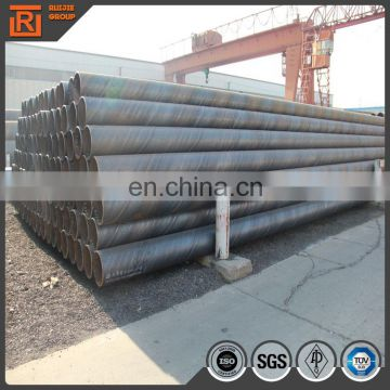 Spiral steel pipe / water well pipe API 5L Gr B SCH 40 for Oil and gas delivery