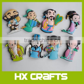 Fridge Magnet Supplier Wholesale Promotional Cheap Custom Souvenir 3d Soft PVC Fridge Magnet