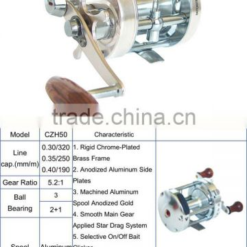 Popular Style CL Series Size 50 Fishing Boat Reel