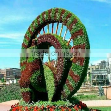 China long-life time fake grass animal good quality artificial grass topiary