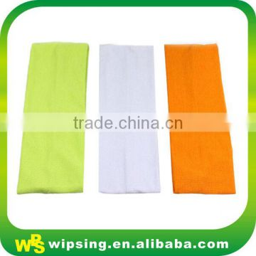Wholesale polyester spandex headbands with logo