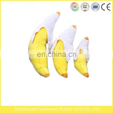 promotional gifts stuffed keychain plush soft toy banana