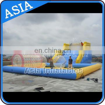 Cheap inflatable zorb ball slide, zorb Inflatable slide, inflatable zorb ramp for sale