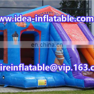new style inflatable jumping house bouncy castle ID-CB086