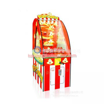 Zhongshan Locta redemption equipment game machine, Popcorn indoor amusement, coin operated, catch ball game