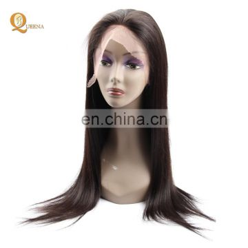 Fast shipment 100% Brazilian Virgin Human hair Full lace wigs the best hair straightener
