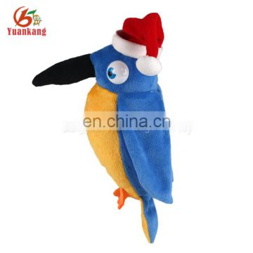 Christmas Plush Animal Bird Doll Woodpecker Stuffed Toys for Childen