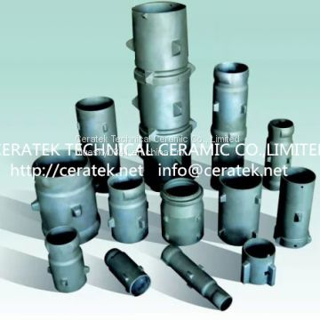 reaction bonded silicon carbide radiant tubes