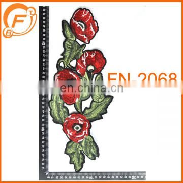 wholesale fabric colorful appliqued embroidery