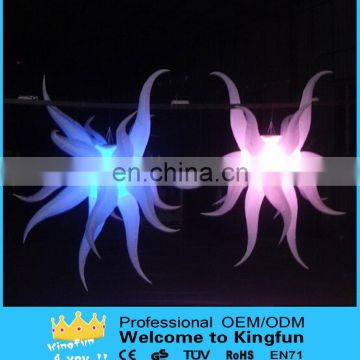 New year decorative inflatable led star