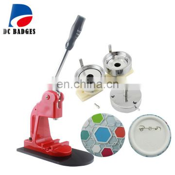 Hot Wholesale Badge Maker Machine with 58mm mould Pin Button Machine  Interchangeable Die Mould
