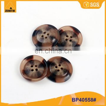 Polyester Immitation Horn ButtonBP40558