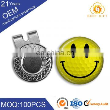 metal blank accessories custom magnetic golf ball marker hat clip