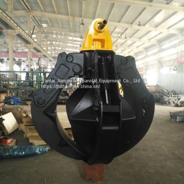 Excavator Orange Peel Grapple for Scrap Handling