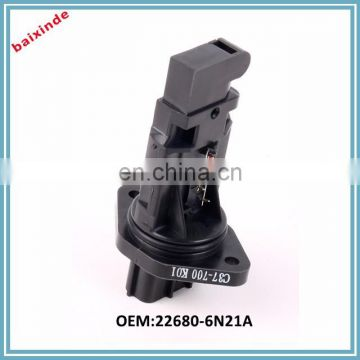 BAIXINDE Wholesale products Air Flow Meter OEM226806N21A 22680-6N21A for Nissans Mass Air Flow Sensor