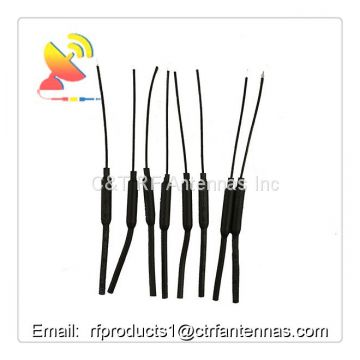 Vertical polarization Tube and semi-rigid coaxial cable FPV wifi antenna RF antenna for UAV drone