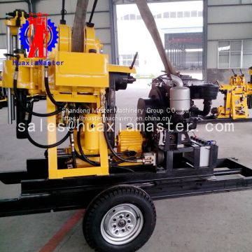 Diamond Core Machine Rotary Water Well Drilling Rig Hydraulic Press Machine For Sale