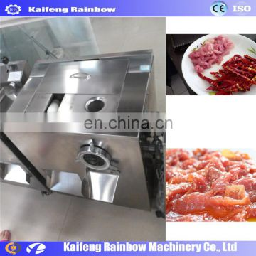 Industrial Made in China  Beef Roll Slices Cutting Machine|Chilled Mutton Slices Chopping Machine