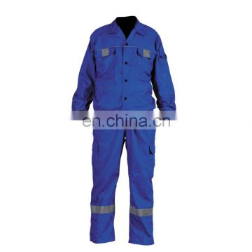 Hi-Vis Reflective Coveralls with 100% cotton fabric and Hi-Vis reflective tape
