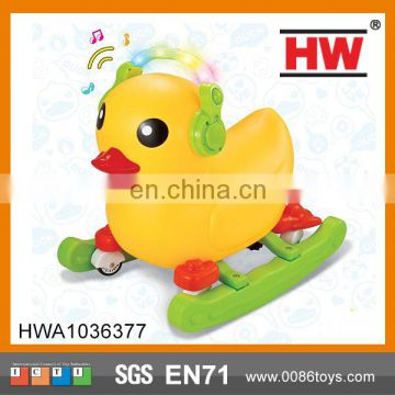 Funny Kids ride on car with light and music kids ride on toys duck